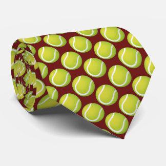 Tennis Balls Pattern | Sports Gift Tie