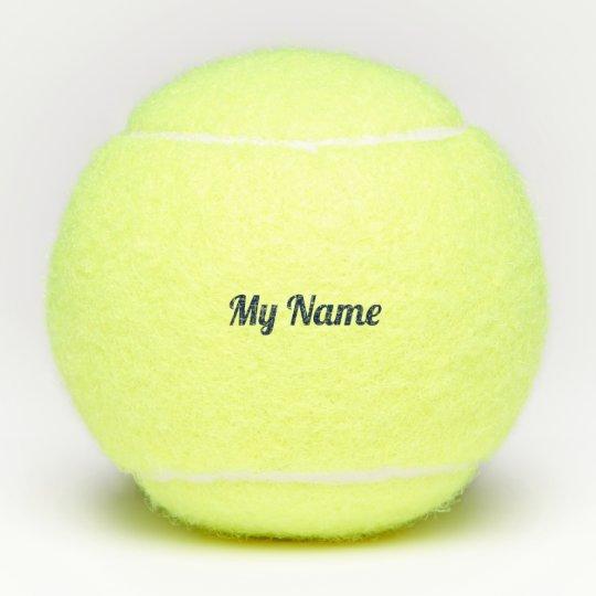 Tennis Balls Penn With Own Name Zazzle Com