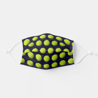 Tennis Balls Personal Protective Equipment Adult Cloth Face Mask