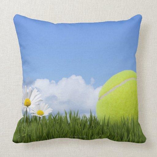 Tennis Balls Pillow