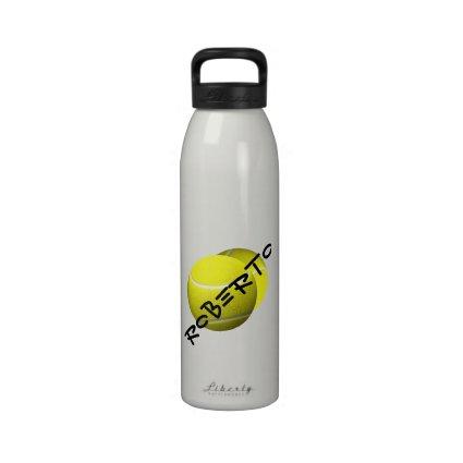 Tennis Balls Sport Water Bottle