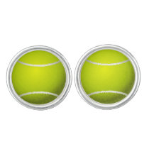 Tennis Balls Sports pattern Cufflinks