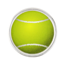 Tennis Balls Sports pattern Lapel Pin
