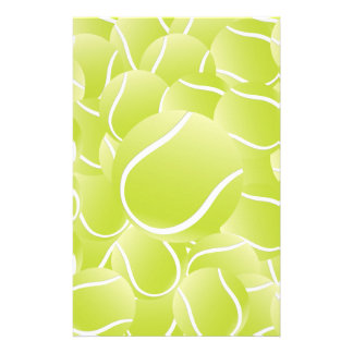 tennis balls stationery