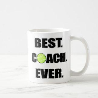 Tennis Best Coach Ever Coffee Mugs