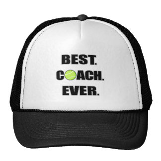Tennis Best Coach Ever Trucker Hat