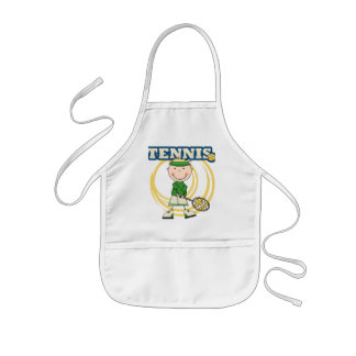 TENNIS - Blond Boy T-shirts and Gifts Kids' Apron
