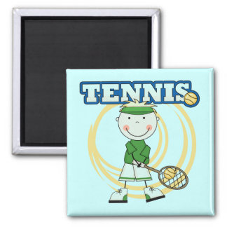 TENNIS - Blond Boy T-shirts and Gifts Magnet