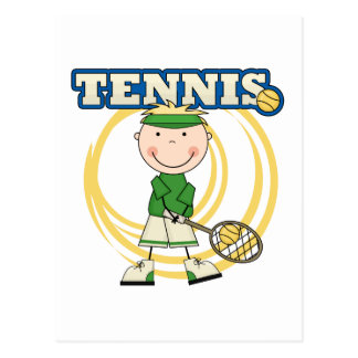 TENNIS - Blond Boy T-shirts and Gifts Postcard