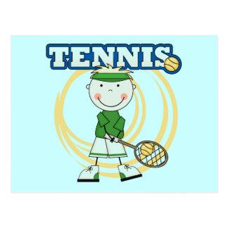 TENNIS - Blond Boy T-shirts and Gifts Postcard
