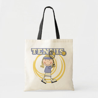 TENNIS - Blond Girl Tshirts and Gifts Tote Bag