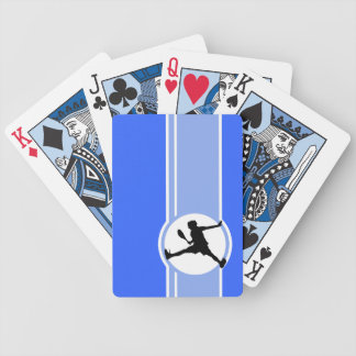 Tennis; Blue Bicycle Playing Cards