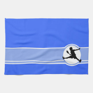 Tennis; Blue Kitchen Towel