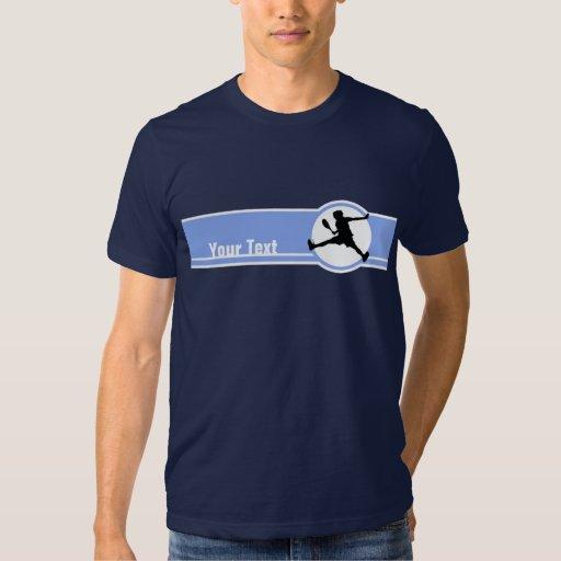Tennis; Blue Tee Shirt