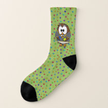 tennis boy owl - socks
