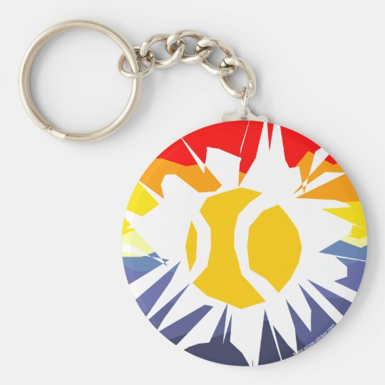 Tennis Break Out Keychain