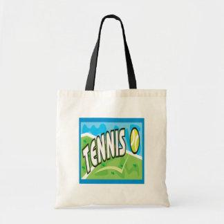 Tennis Budget Tote Bag
