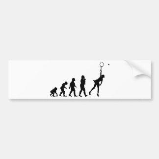 Tennis Bumper Sticker