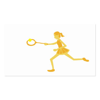 Tennis Pack Of Standard Business Cards
