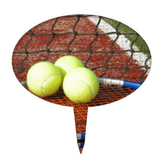 Tennis Court Cake Toppers | Zazzle