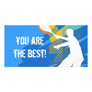 Tennis card: you are the best card