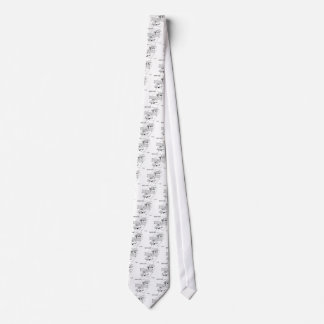 Tennis Cartoon 5216 Tie