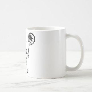 Tennis Cartoon Classic White Coffee Mug