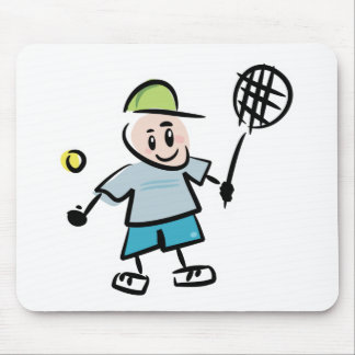 Tennis Cartoon Mouse Pad