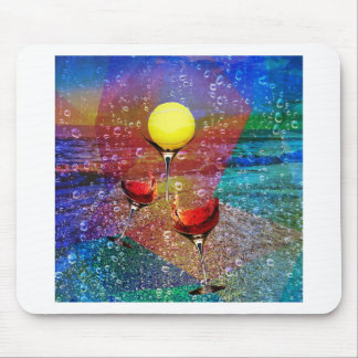Tennis celebrates in full color mouse pad