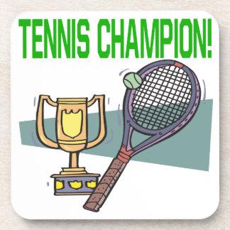 Tennis Champion Drink Coaster