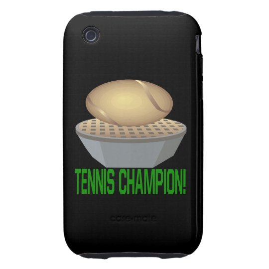 Tennis Champion iPhone 3 Tough Cover