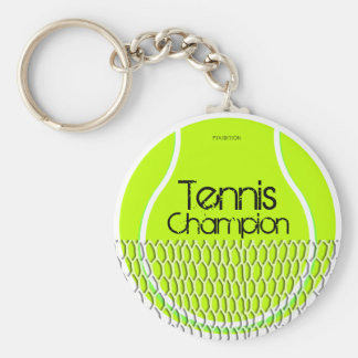 Tennis Champion Keychain