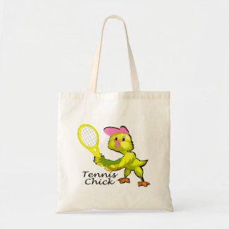 Tennis Chick Budget Tote Bag