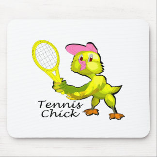 Tennis Chick Mouse Pad