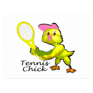 Tennis Chick Postcards