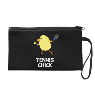 Tennis Chick Wristlet