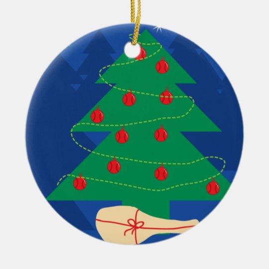 Tennis christmas decoration ball