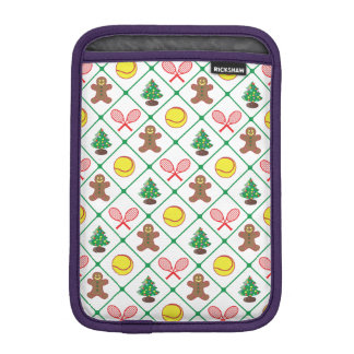 Tennis Christmas pattern Sleeve For iPad Mini