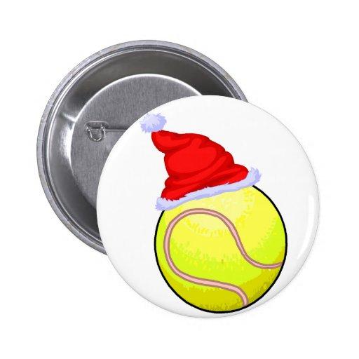Tennis Christmas Pins