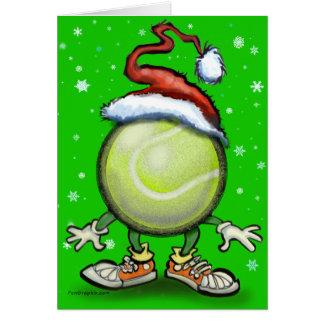 Tennis Chrsitmas Card