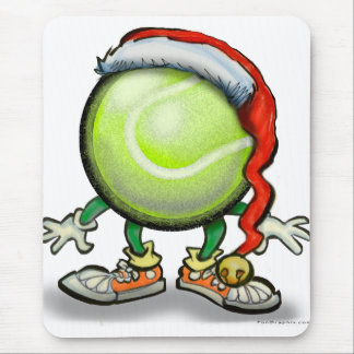 Tennis Chrsitmas Mouse Pad