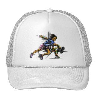 Tennis city co-ed trucker hat
