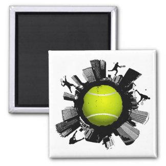 Tennis City Magnet