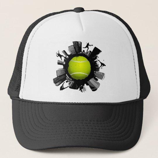 Tennis City Trucker Hat