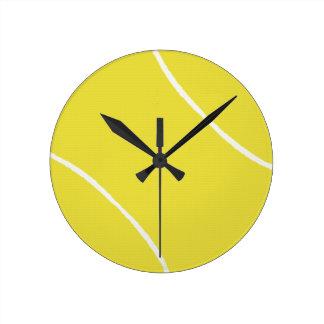 Tennis Round Clock
