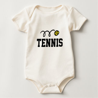 Tennis clothing for babies and young kids baby bodysuit