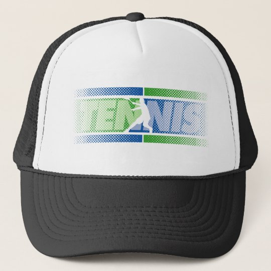 Tennis clothing for men, women and kids trucker hat