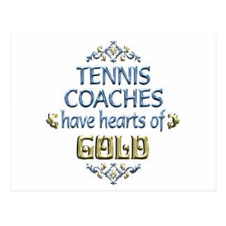 Tennis Coach Appreciation Postcard
