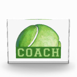 Tennis Coach Acrylic Award