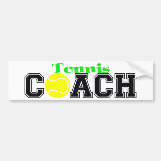 Tennis Coach Bumper Stickers